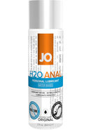 Jo H2o Anal Water Based Lubricant 2oz